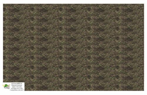 [FFSMC Productions] Decals 1/35 WWII German SS Platanen Summer Camo Pattern