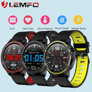 Lemfo-L8-Reloj-inteligente-deportivo-ECG-Oxigeno-en-la-sangre-IP68-Impermeable