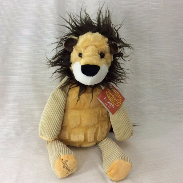Scentsy Buddy Roarbert the Lion Chenille Plush Stuffed Animal Toy 15 Inch