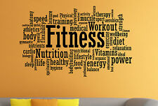 Fitness Gym Wall Decal Motivation Sport Vinyl Sticker Atr Home Wall Decor 12fw