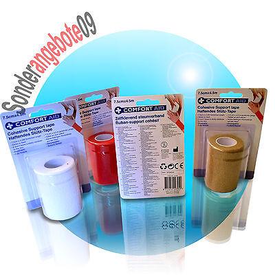 Fasciatura Detenzione 7,5cm X 4,5m Easy Flex Benda Bendaggio Tape Detenzione Bandage Associazione Di Protezione-mostra Il Titolo Originale I Clienti Prima Di Tutto