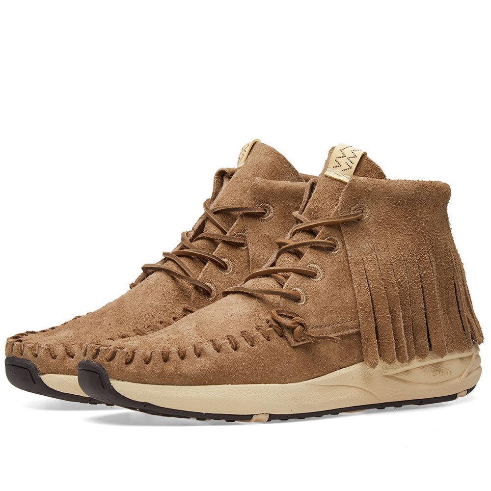 NIB Visvim Yucca Moc Shaman Veg Suede scarpe da ginnastica RRP  1300