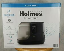 Holmes Cool Mist Ultrasonic Cylinder Humidifier Black for