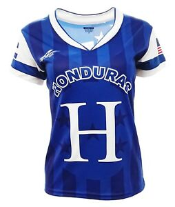 5dc3831cd Image is loading Honduras-and-USA-Jersey-Arza-Design-For-Women-