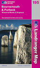 Bournemouth and Purbeck, Wimborne Minster and Ringwood by Ordnance Survey (Sheet map, folded, 2004)