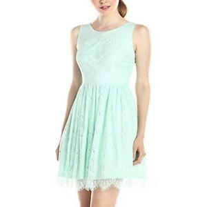 JESSICA-SIMPSON-Mint-Lace-Fit-amp-Flare-Dress-Women-039-s-Plus-size-14
