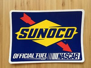SUNOCO-RACE-FUELS-LARGE-OFFICIAL-STICKER-OFFICIAL-FUEL-OF-NASCAR-BRAND-NEW
