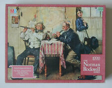 The Love Song Norman Rockwell Textured Jigsaw Puzzle 1000 pc Milton Bradley