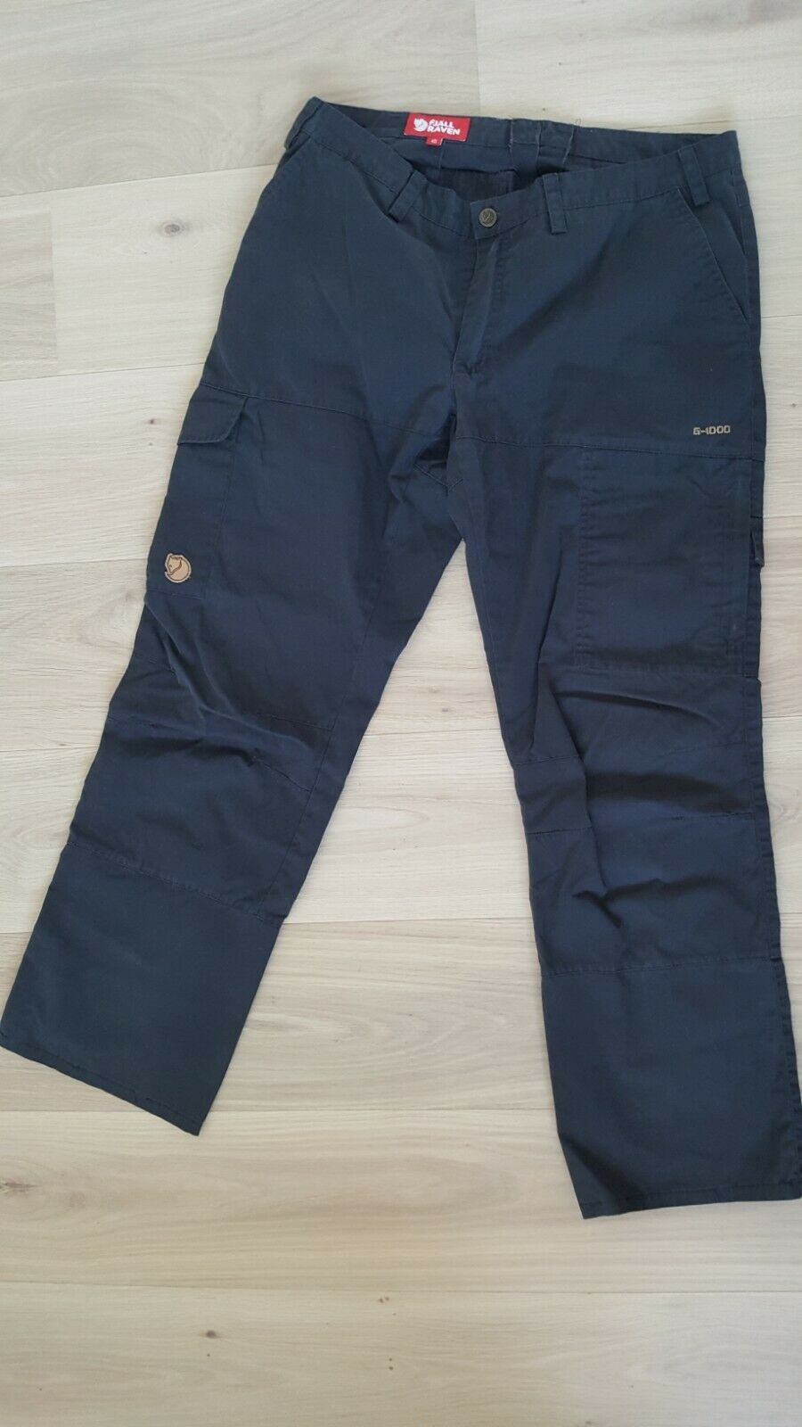 Fjallraven Hiking Pants G-1000 Trekking Trouses Womannen's afmeting 40
