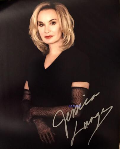 JESSICA LANGE REPRINT SIGNED 8X10 PHOTO AUTOGRAPHED PICTURE CHRISTMAS GIFT