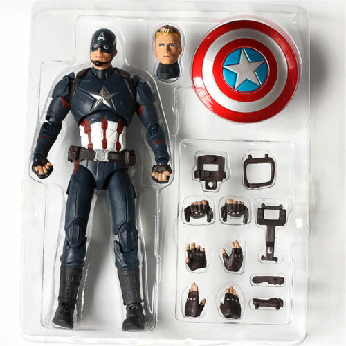 6/'/' S.H.Figuarts Captain America Figure SHF Movable Collection Toy New in Box