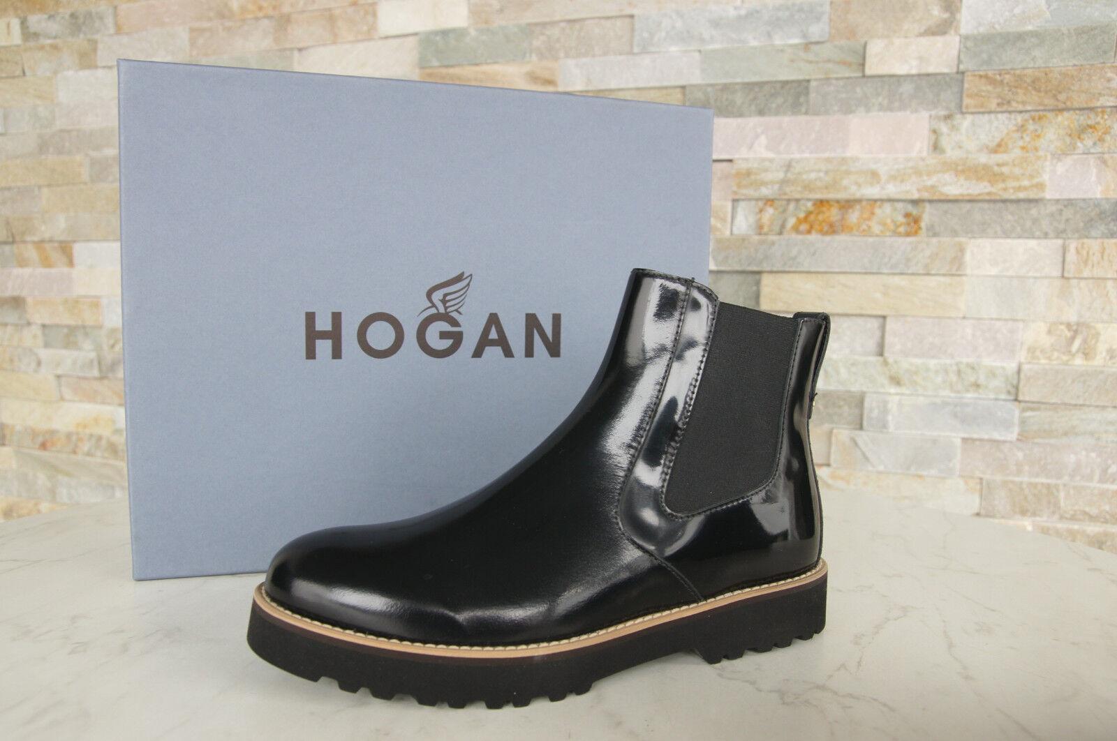 HOGAN by Tods Gr 36 Stiefeletten Booties Schuhe schwarz nero NEU