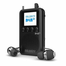 Portable Pocket Personal Handheld DAB+ FM Digital Radio Rechargeable Battery