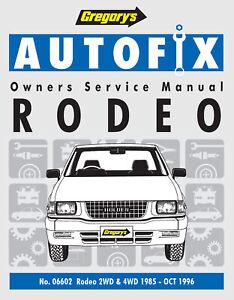 Holden-Rodeo-KB-TF-1985-1996-Repair-Manual