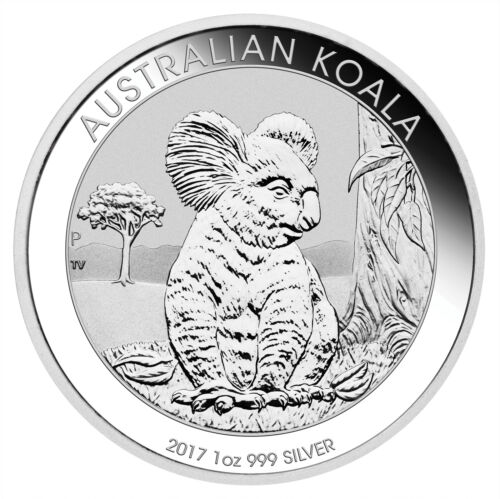 Lot of 2-2017 1oz Australian Silver Koala .999 Fine BU