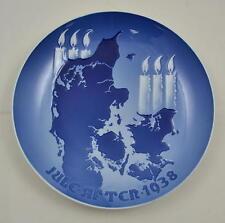 Bing & Grondahl - B&G - Weihnachtsteller 1938 - Christmas plate 1938