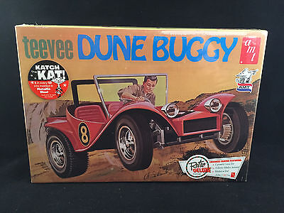 Car 2 Dollhouse Miniature Unfinished Metal Dune Buggy