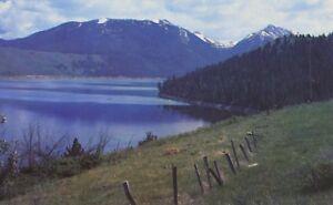 Wallowa-Lake-OR-Oregon-Wallowa-Mountain-Range-Postcard-D19