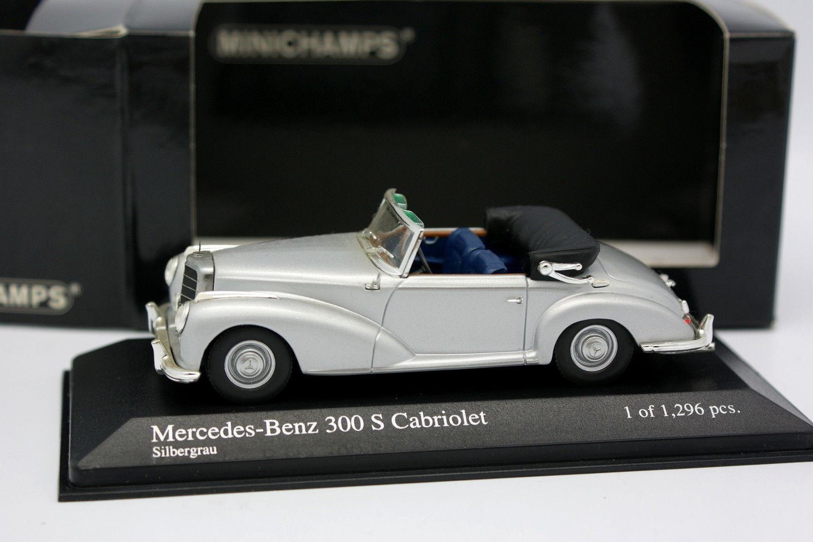 Minichamps 1 43 - Mercedes 300 S S S Cabriolet silver 0f2d56