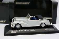 Minichamps 1/43 - Mercedes 300 S Cabriolet Silver