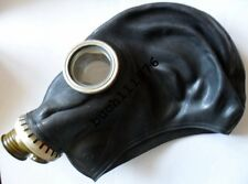 WW2 USSR SOVIET  RUBBER GAS MASK GP-5 Russian Black  Military only new size 0