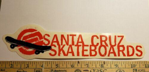 VTG 90/'s SANTA CRUZ HUGE STRIP BULLET WHEELS SPEED FREAKS SKATEBOARD STICKER sma