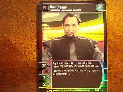 Star Wars TCG ROTS Bail Organa FOIL 2//110 B