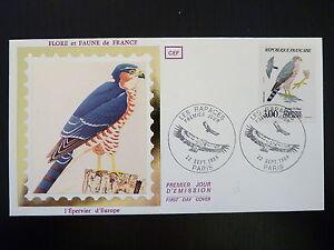 France Premier Jour Fdc Yvert 2340 Les Rapaces 3f Paris 1984