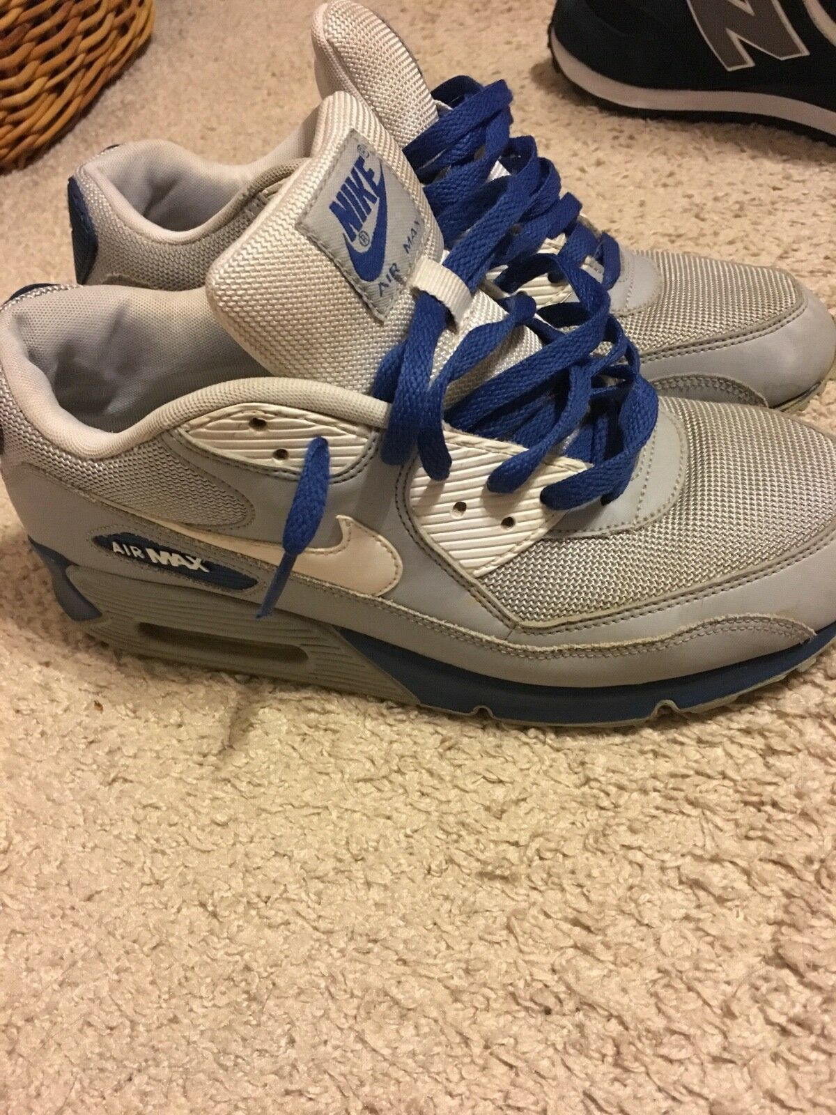 USED mens airmax 90 size 10. NOT VERY dirty but not perfect. NO rips, no box Cheap and beautiful fashion