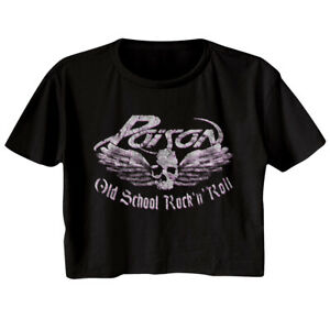 Poison Old School Rock And Roll Music T Shirt