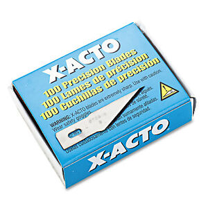 #2 Bulk Pack Blades for X-Acto Knives 100/Box X602
