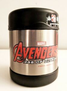 Thermos-FUNtainer-Food-Jar-Avengers-Age-of-Ultron-Stainless-Steel-10-oz-New