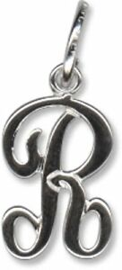 Beaucraft Sterling Silver Script Letter J Charm Jewelry & Watches Fine Jewelry