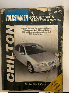 Chilton-Repair-Manual-Volkswagen-Jetta-Golf-GTI-1999-2005
