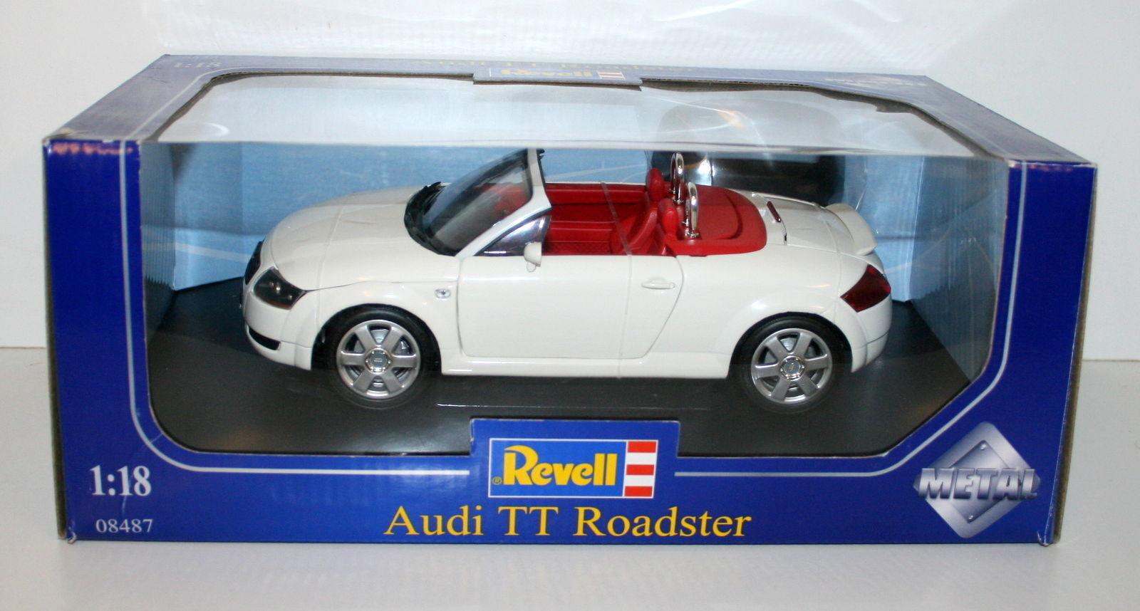 mas barato Revell 1 18 08487 AUDI AUDI AUDI TT ROADSTER blancoo  venta mundialmente famosa en línea