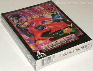 ATARI-LYNX-game-cartridge-Stun-S-T-U-N-Runner-Original-Scelle