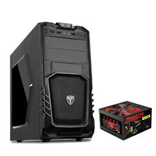 AvP STORM 27 Gaming Pc Computer Tower case - 650W PSU alimentatore-USB 3.0