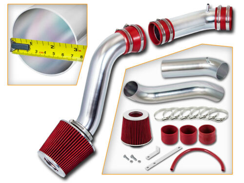 BCP RED 1990 1991 1992 Thunderbird 3.8L V6 Supercharged Cold Air Intake Filter