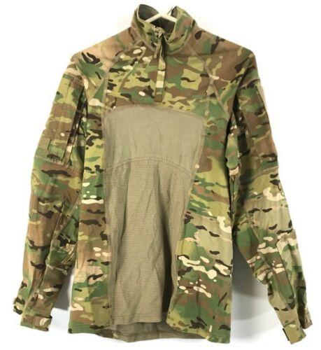 LARGE Army Combat Shirt Type II Flame Resistant Uniform MASSIF Multicam OCP ACS