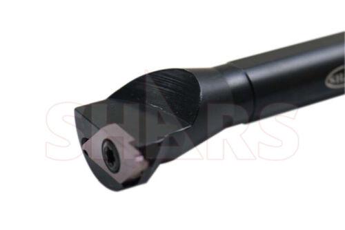 """Shars TKIR 1//2/"""" Shank RH Miniature Internal Grooving Cut Off Tool Holder New P"""
