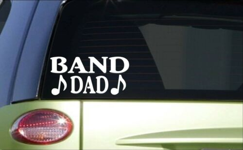 Band Dad *H776* 8 inch Sticker decal marching band uniform drum