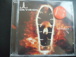 De-Vision-Monosex-CD-1998-synth-pop-Electronic-De-Vision