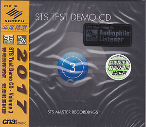 Details about STS Test Demo CD Vol 3 STS Digital MW Coding Process  Audiophile CD 2017 Siltech