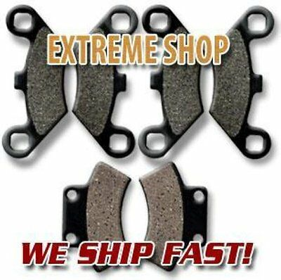 POLARIS FR+R Brake Pads Trail Boss 250 350 1988-1999 Magnum 425 95-98 300 94-95