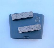 New 9pk 3040 Hard Concrete Htc Quick Change Diamond Floor Grinding Segments