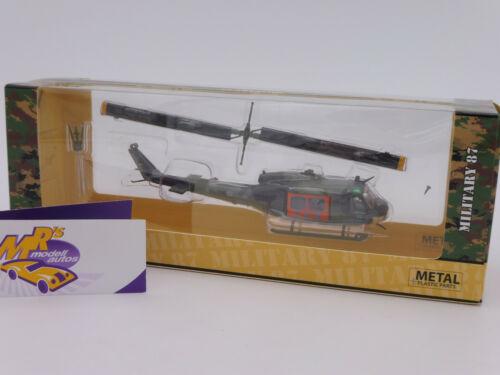 """Schuco 26432 # bell uh 1d helicóptero de salvamento tarnlackierung /""""sar/"""" 1:87 nuevo"""