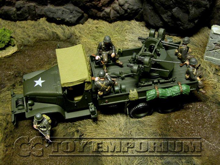 Forces of valor-nuevo nos 2.5 tonelada camión de carga con pistolas Quad 50 Cal.
