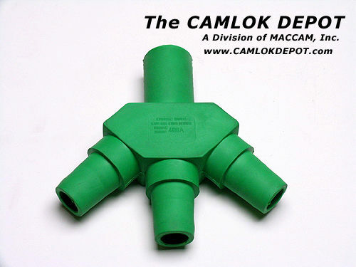 "Camlok /""Three-Fer/"" GREEN"