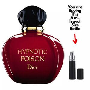 DIOR HYPNOTIC POISON EDT 6 mL Travel Size Spray Bottle Women Perfume Sample