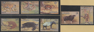 82-MALAYSIA-1979-NATIONAL-ANIMALS-DEFINITIVE-SERIES-SET-8V-FRESH-MNH